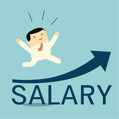 Salary Increase Happy Raise Wage Clipart Illustration