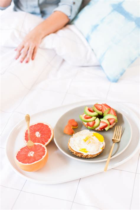 simple breakfast in bed ideas 3 insanely easy breakfast in bed ideas for a low key valentine s day paper and stitch