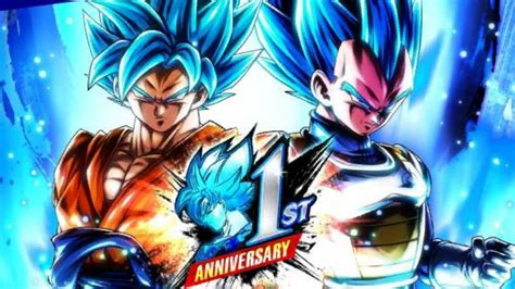 dragon ball legends anniversaire vegetto goku ssj blue