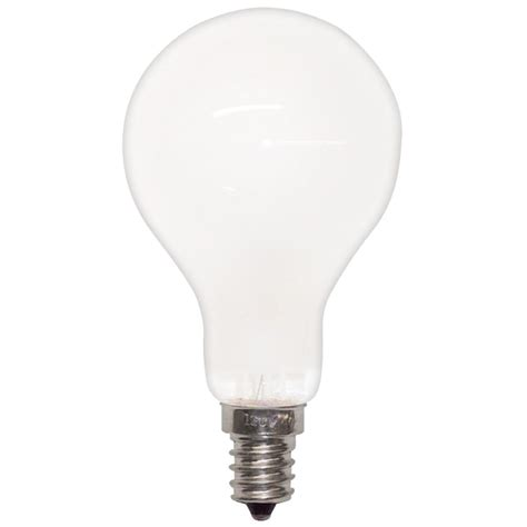 40a15 e12 fr130 40 watt a15 frosted appliance bulb