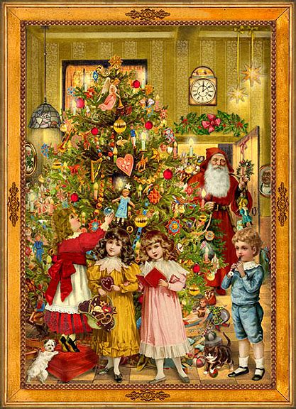 Who Introduced Christmas Trees England