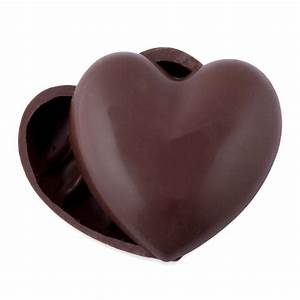 Small Milk Chocolate Heart Box - Excellence Chocolate