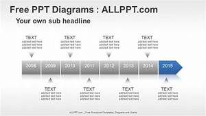 8 Years Timeline Ppt Diagrams   Download Free