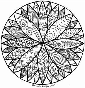 Die Schnsten Mandalas Zum Ausdrucken MandalaMalspiel