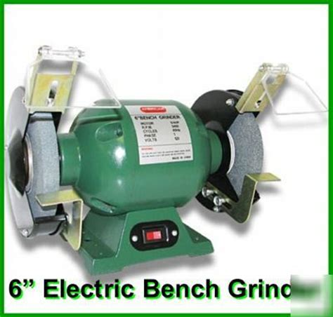 """New 6"""" Electric Bench Grinder"""