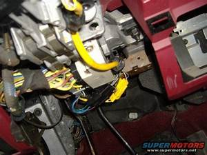 1992 Ford F150 Ignition Switch Removal