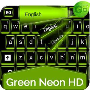 Download Green Neon HD Keyboard for PC