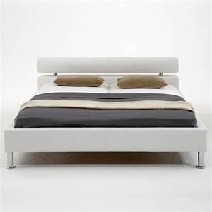 Bett 160x200 Weiß : polsterbett kunst lederbett wei bett 160x200 cm andre ~ Indierocktalk.com Haus und Dekorationen
