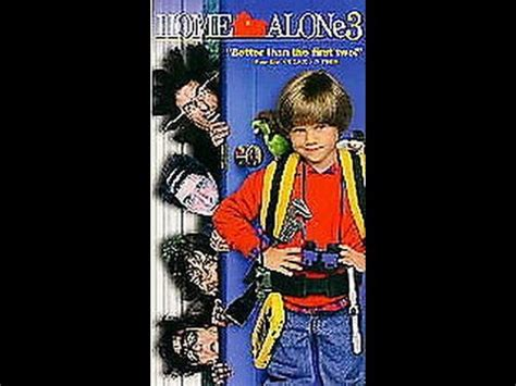 Opening To Home Alone 3 1998 Vhs Youtube