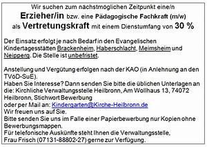 Stellenangebote Heilbronn Vollzeit : kirchenbezirk brackenheim offene stellen ~ Eleganceandgraceweddings.com Haus und Dekorationen