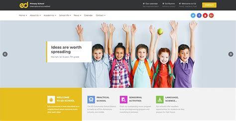 school college education institute website design  rs