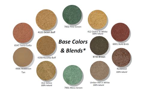 what color is buff new riverside ochre base colors blends
