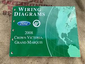 Oem Ford Wiring Diagrams 2008 Crown Victoria Grand Marquis
