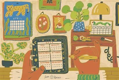 Calendar Printable Calendars 4x6 Template Stylish Holidays