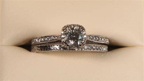 Designer Tacori Womens Wedding Ring Set
