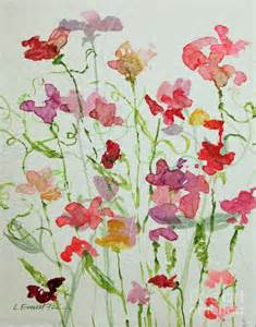 Sweet Pea Painting