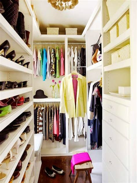 picture of small walk in closet with a smart shoe