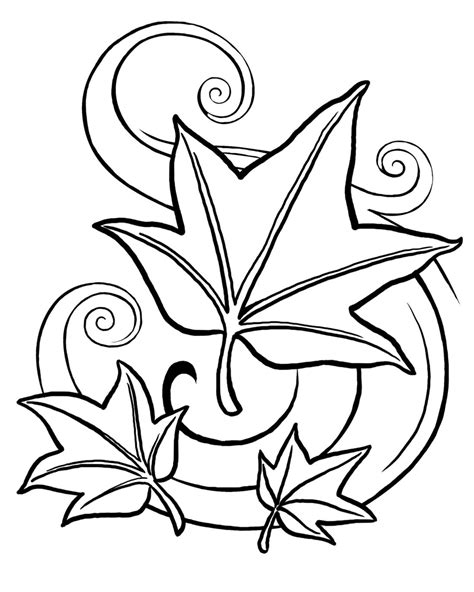 Coloring Leaves by Coloring Now 187 Archive 187 Leaf Coloring Pages