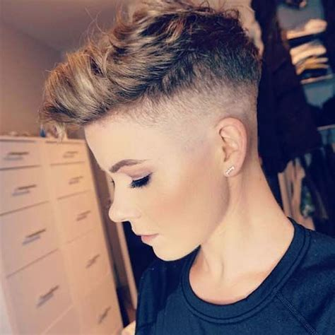 25 Glowing Undercut Short Hairstyles for Women
