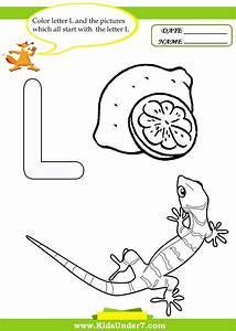 Letter L Worksheets For Preschool Letter L Worksheets