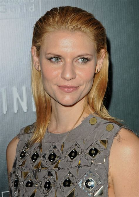 claire danes long hair combed   slick smoothness