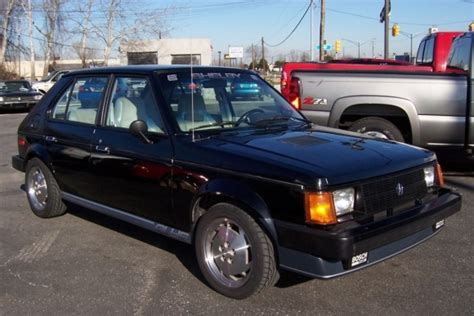 Omni For Sale by 6600 Mile 1986 Dodge Omni Glhs Turbo Bring A Trailer