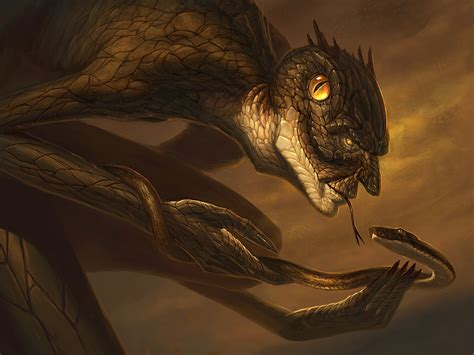 Yig - Father of Serpents by faxtar on DeviantArt