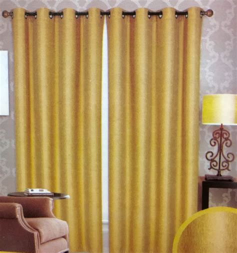 Gold And White Blackout Curtains by 2 High Quality Jacquard Blackout Panel 8 Grommet