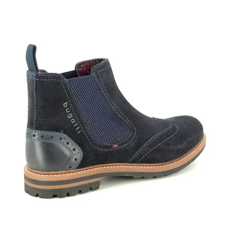 See the bugatti collection at greenesshoes.com with free delivery in. Bugatti Silvestro Chelsea 31181561-4000 Navy suede Chelsea Boots