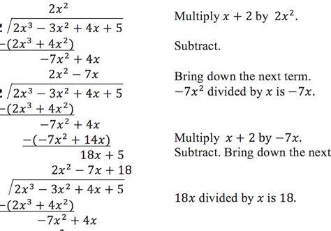 Polynomial Long Division  Easy Way To Divide Polynomials