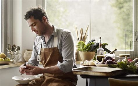 Meet Gill Meller River Cottage Head Chef, Hawk Flyer And