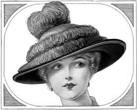 Edwardian Ladies Fashion Hats