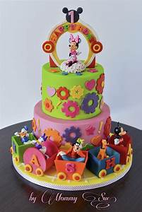 Minnie Mouse Boutique and friends cake | Mickey cakes ...