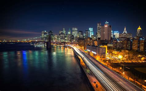 4K Wallpaper City Night Desktop
