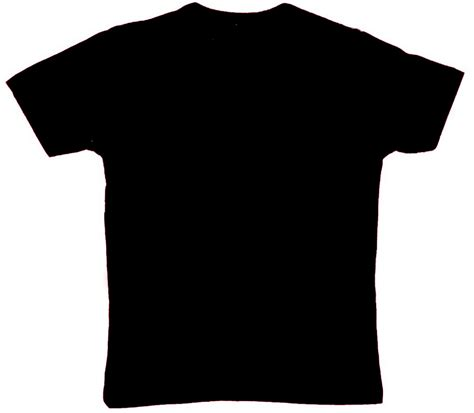 kaos tshirt hitam tshirt hitam hadapan clipart best
