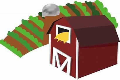 Farm Clipart Clip Barn Transparent Farms Cliparts