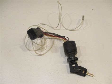 Wire Ignition Switch by Mercury Marine Outboard Boat Ignition Switch And Key Push