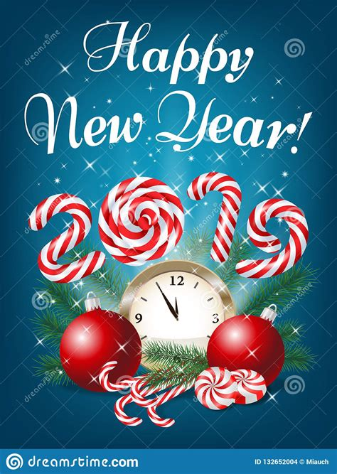 1 svg file 1 ai file 1 eps file 1 pdf file 1 png files. Merry Christmas And Happy New Year 2019 Greeting Card ...