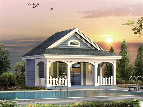 cabana pool house designs summerville pool cabana plan 009d 7524 house plans and more