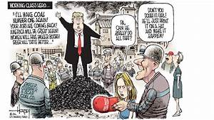Like a politician, Trump tells coal miners what they want ...