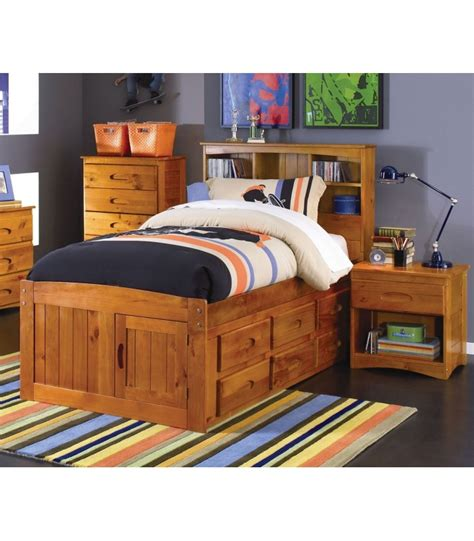 full size bookcase bed ridgeline full size bookcase trundle captains bed