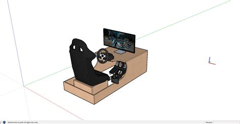 siege volant ps4 cockpit de jeux volant logitech
