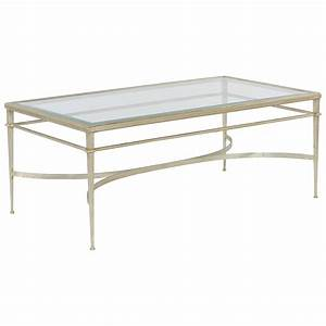 maddy rectangle silver cocktail table luxe home company With silver rectangle coffee table