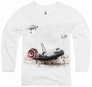 Shirts That Go Little Boys' Space Shuttle T-Shirt ...