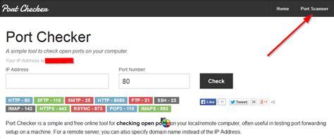 port forwarding checker  portcheckercom networking
