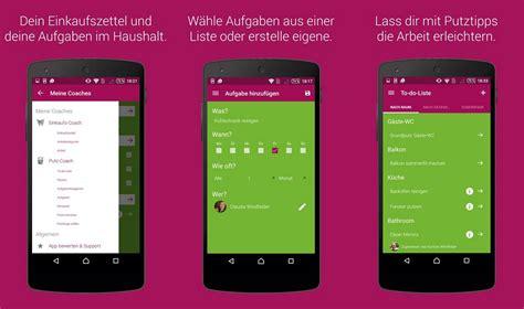App Haushalt Organisieren by Haushalts Coach Hausarbeit Mit Dem Smartphone Organisieren
