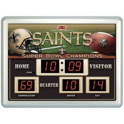 Team Sports America™ NFL® Team Scoreboard - 205448, Sports ...