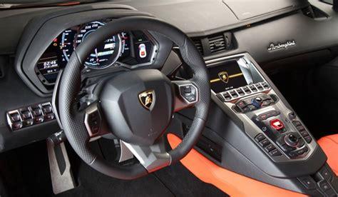 Lamborghini Aventador's Dash, Nav Shows Mmi