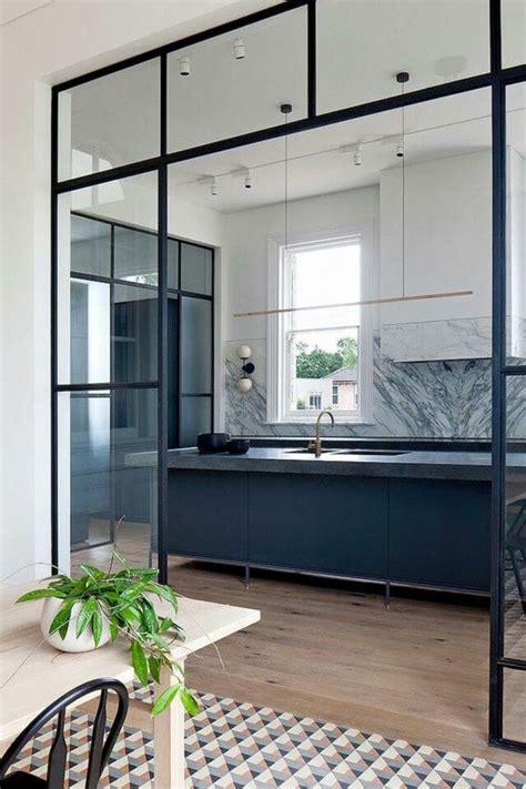 idees pour une cuisine bleu canard les interieurs