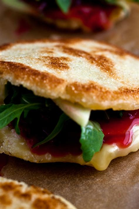 cranberry brie arepa recipe nyt cooking
